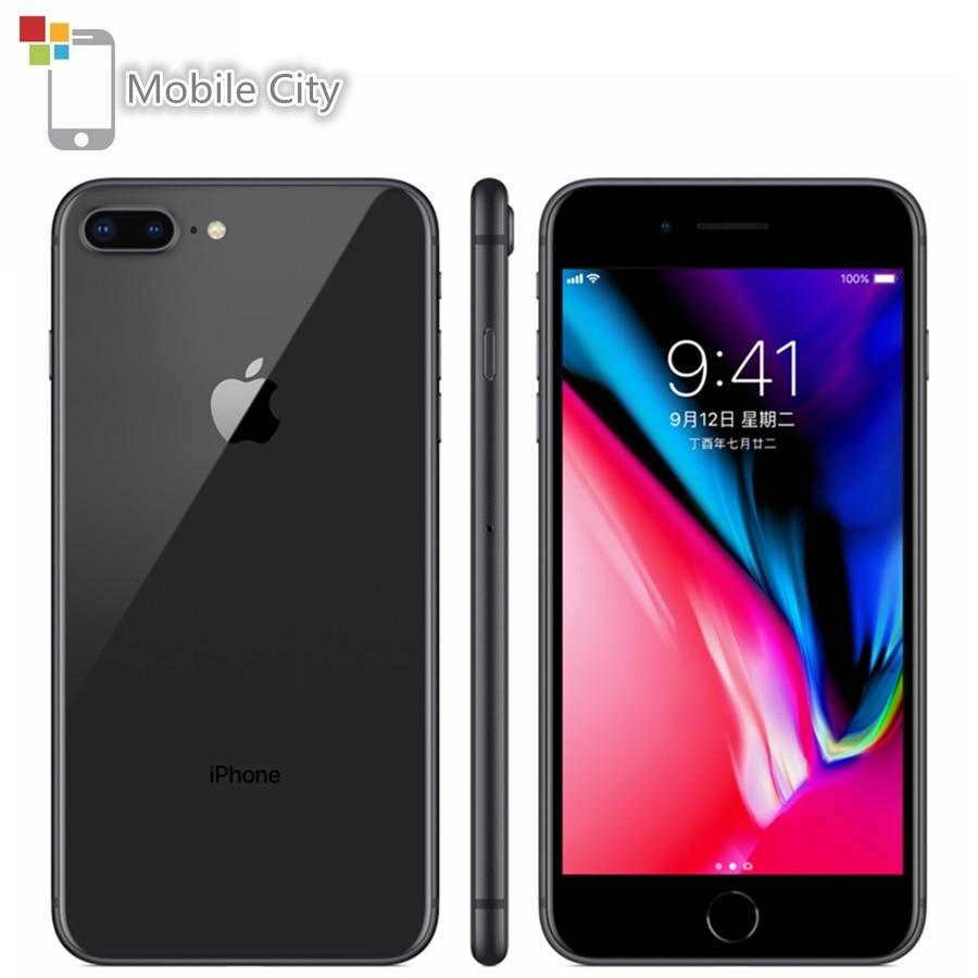 Оригинальный разблокированный смартфон Apple iPhone 8 Plus 8 Plus, 64 ГБ/256 ГБ, мобильный телефон 3 Гб ОЗУ, шестиядерный, 5,5 дюйма, IOS, мобильный сотовый тел...