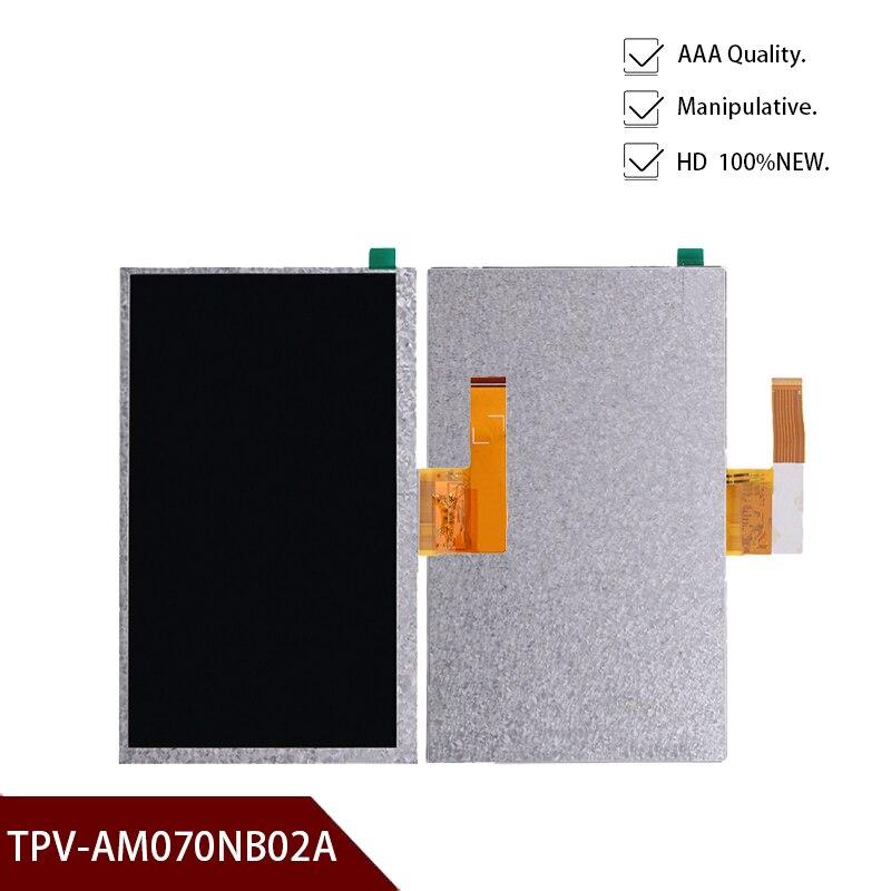 Original para Lenovo TAB 3 Essential 710F Tab3 TB3 LCD conjunto de pantalla para Lenovo Display TPV-AM070NB02A envío gratis