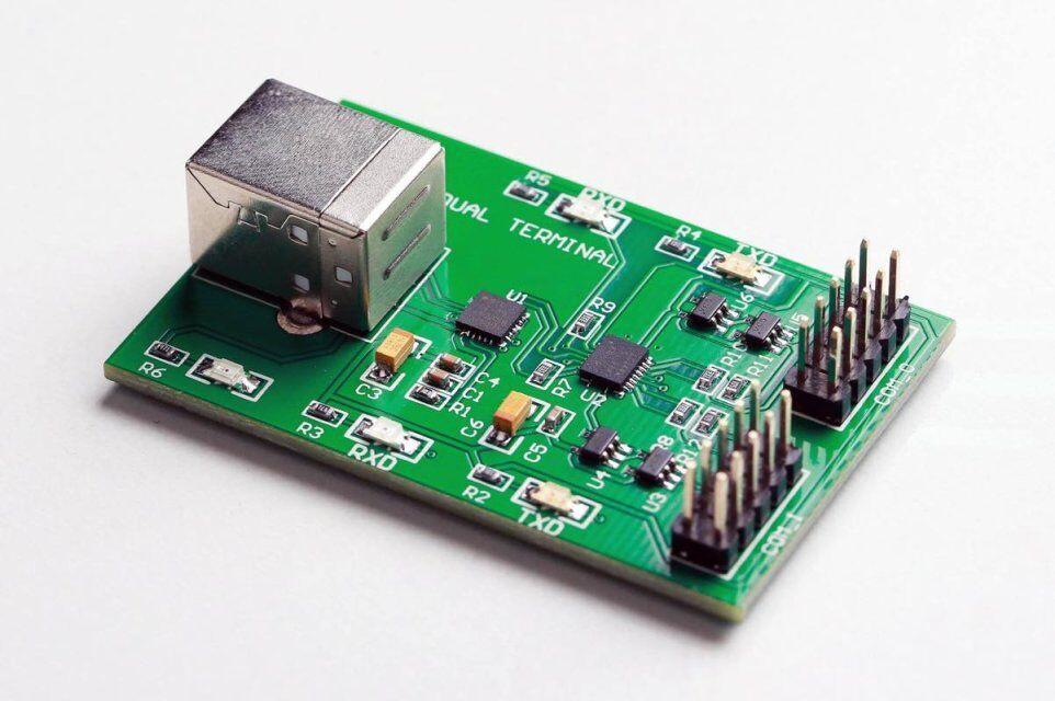 MRT USB de doble núcleo Terminal USB Com Placa de mando compatible con MRT PC3000