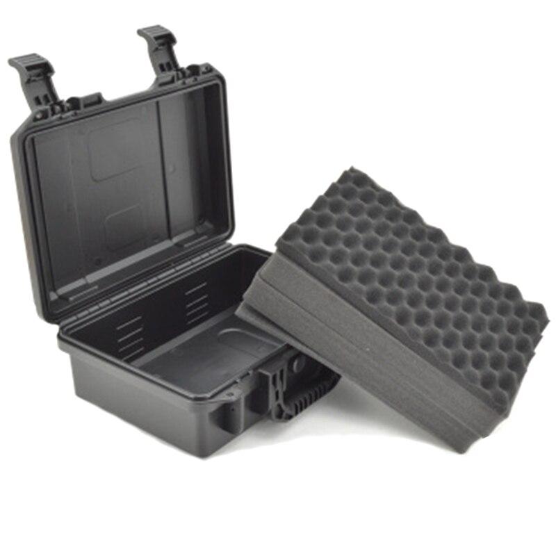 Caja de Herramientas Anti-impacto sello impermeable equipo Cámara Kit de instrumentos de seguridad con espuma precortada