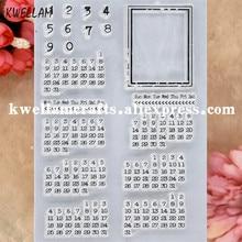 Kalender Sammelalbum foto karten stempel klare stempel transparent stempel 9081507
