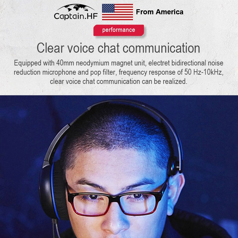 Headphones HyperX CloudX Chat, Compatible with Xbox, 40mm Driver, Noise-Cancellation Mic, Pop Filter, in-Line Audio Controls enlarge