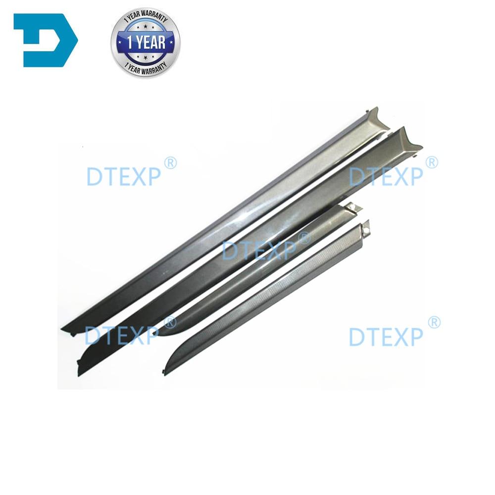 2 or 4 Pcs Interior Carbon Fiber Door Cover for Lancer Ex Instrument Carbon Fiber Board for Lancer Gt Door Trim for Evo 10 X