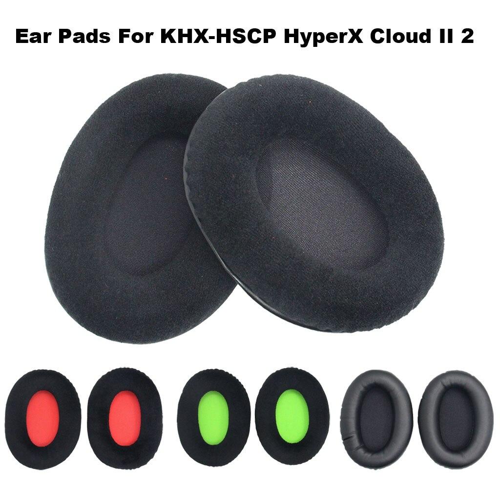 Almohadillas de repuesto 25 #2 X para Kingston khx-hscp Hyperx Cloud Ii, almohadillas de espuma de repuesto