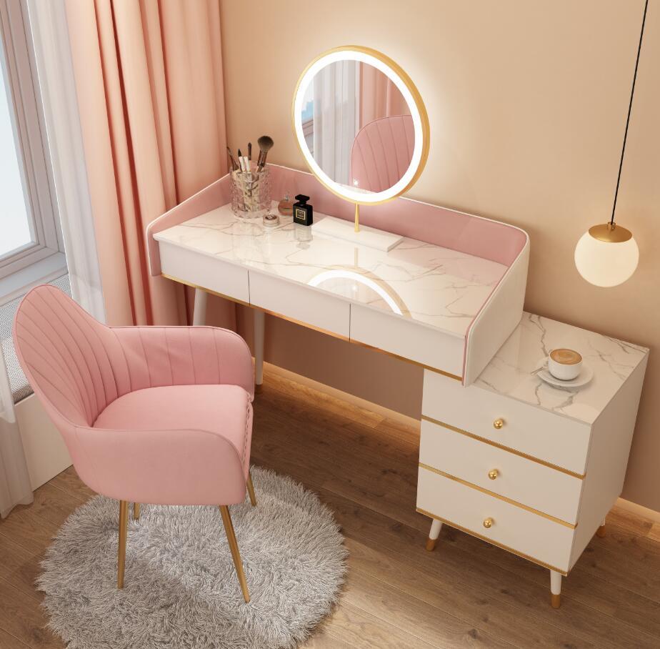 Туалетный столик один маленький прикроватный столик для одной девушки прикроватный столик для эркера туалетный столик шкаф для хранения о...