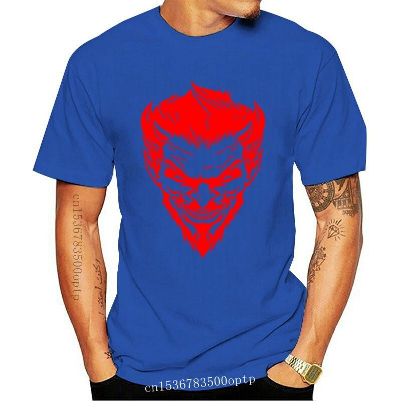 New Halloween T-Shirt Horror Gothic Steampunk Pennywise Devil Freddie Krueger Tee Short-Sleeved Tee Shirt