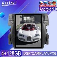 4128g android radio tape recorder for honda civic 2016 2017 2018 2019 car multimedia player stereo head unit px6 tesla navi gps