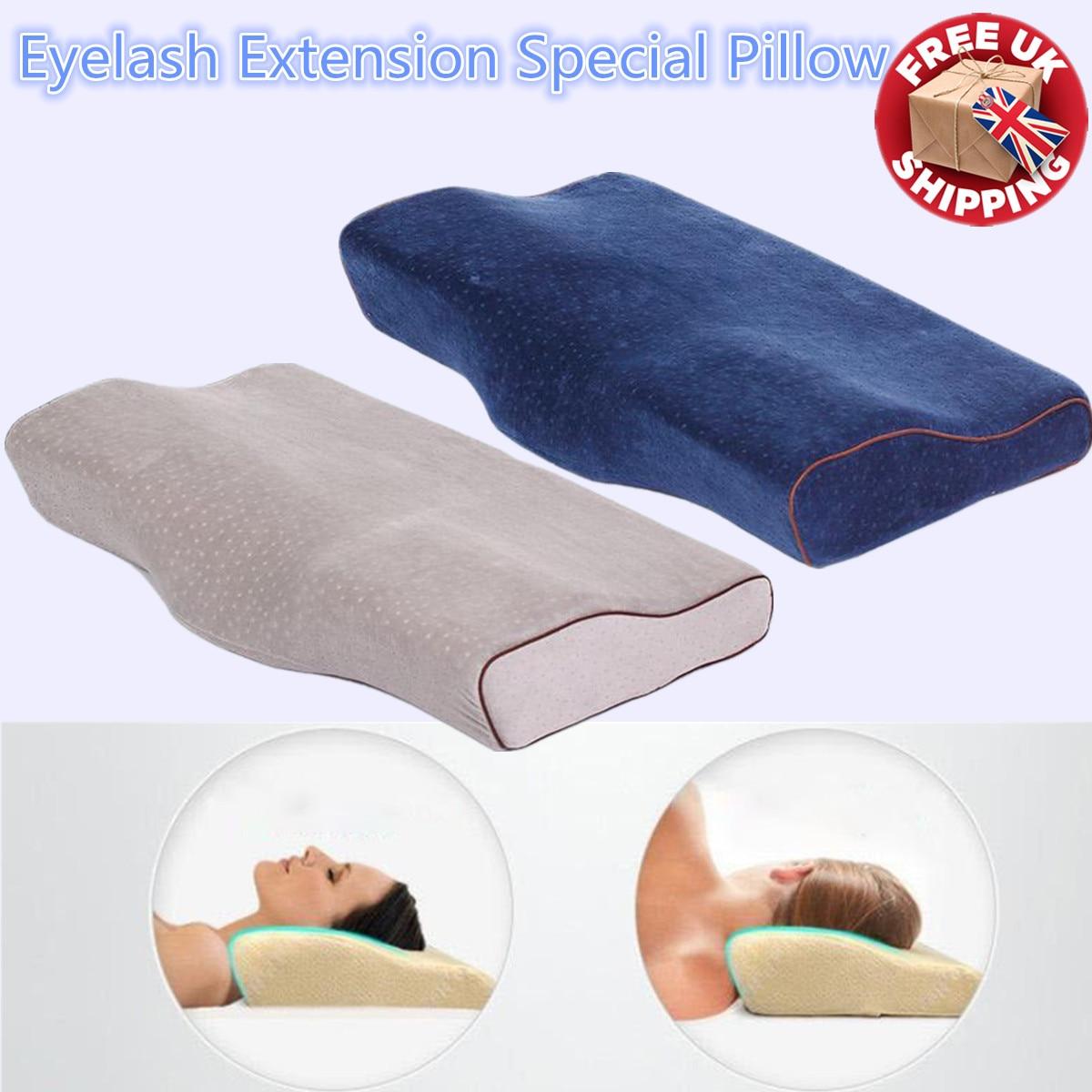 Profissional almofada de extensão de cílios memória espuma lash travesseiro enxertia especial ergonômico cervical aliviar a ferramenta de pressão cervical