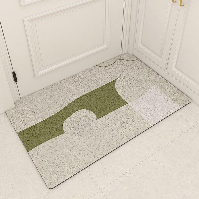 DIY شكل PVC المنزل الحصير المطبخ السجاد حصيرة الحمام حصيرة المضادة للانزلاق سهلة لتنظيف المدخل باب حصيرة السجاد مخصص مدخل باب حصيرة