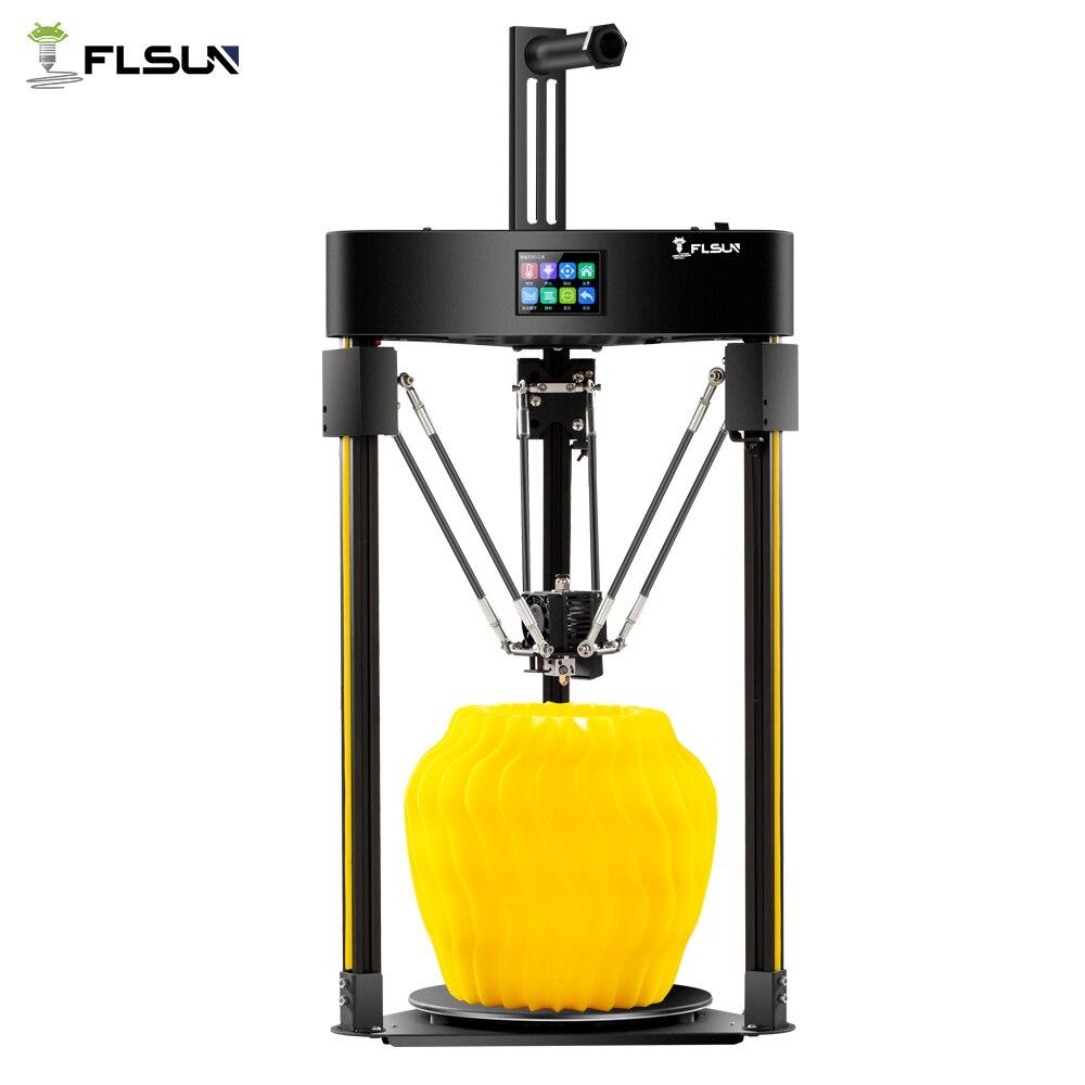 Flsun Q5 imprimante 3D nivellement automatique imprimante 3D TMC 2208 pilote silencieux reprendre pré-assemblage 3d-imprimante TFT 32bits conseil Kossel