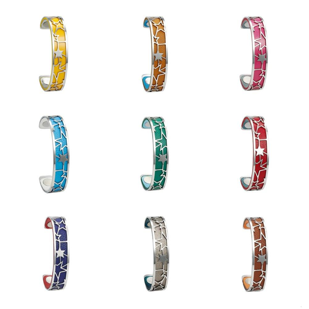 Legenstar 14 MM brazalete intercambiable Manchette mujer Acero inoxidable Georgette pulseras brazaletes para mujer joyería