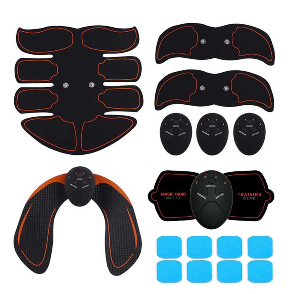 Electric ABS Wireless Muscle Simulators Smart Fitness Abdominal Training Device Electric Body Exerci