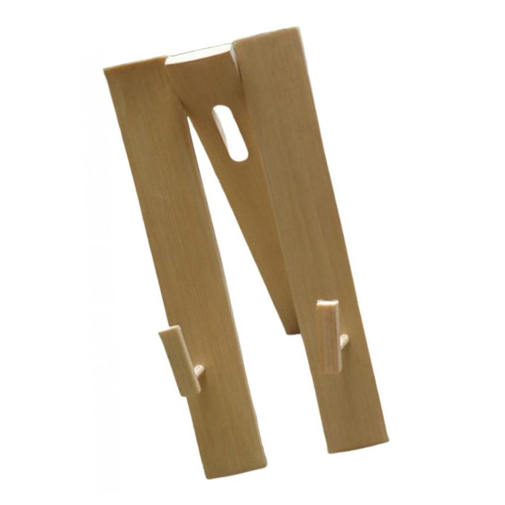 Fan Display Stands Bamboo Tripod Decorative Wedding Folding Fan Holder