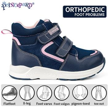 Princepard Comfortable Fashion Autumn Kids Children Sports Orthopedic Shoes Corrective Walking Shoes For Babies
