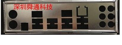 Adecuado para ASUS p8p67 I/O deflector de panel trasero deflector personalizado