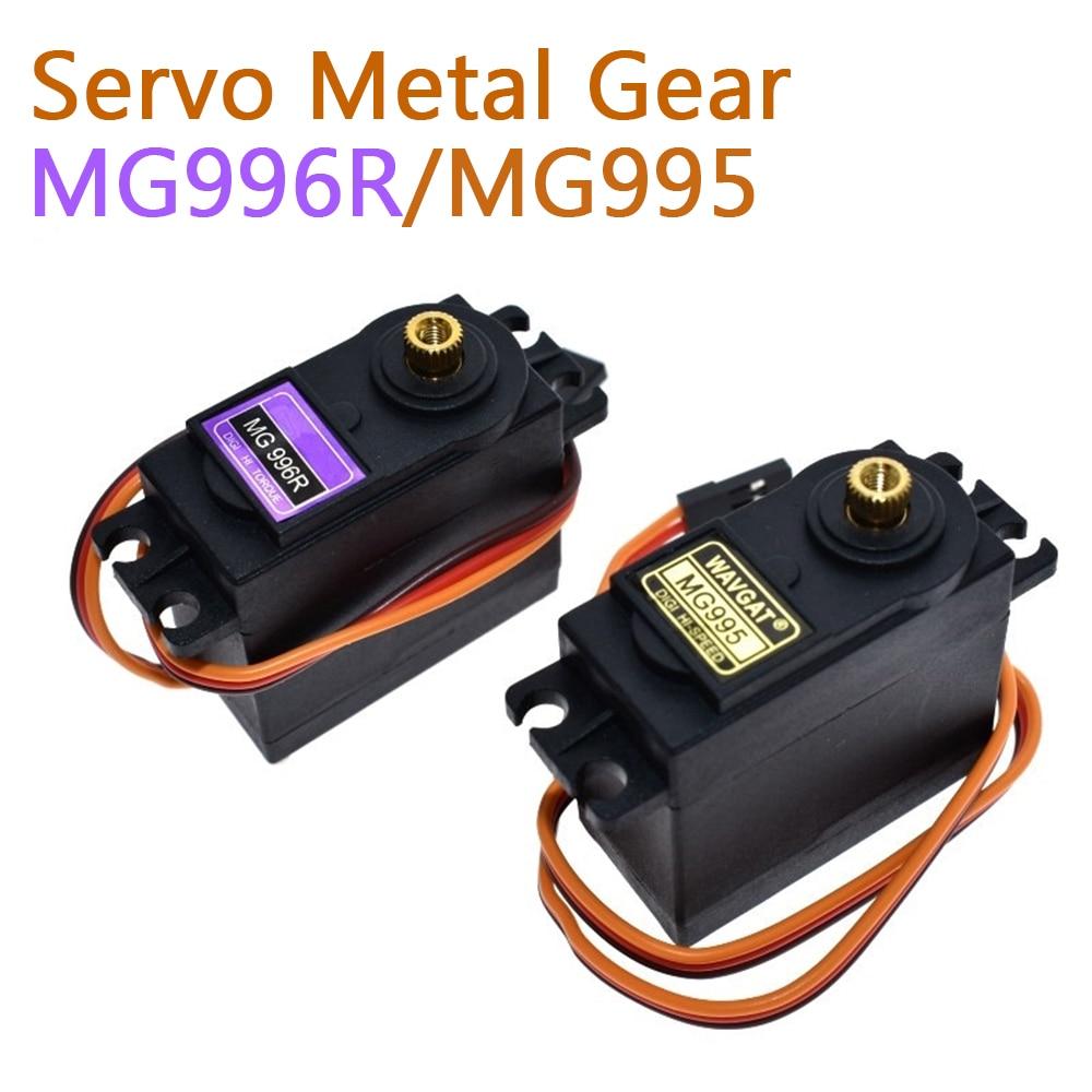 Сервоприводы Digital MG995 MG996, вес 13 кг, 15 кг,