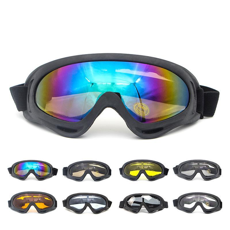 Оптовая продажа, тактические очки для спорта на открытом воздухе, лыж, мотоцикл для пересеченной местности, ветрозащитные очки для предотвр...