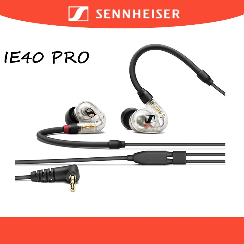 Sennheiser IE40 PRO Wired Precise Monitoring Earphones HIFI Headset Sport Earbuds Noise Isolation He