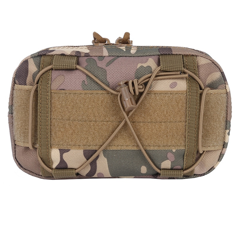 Tactical Molle Waist Bags Utility Map Admin Pouch EDC Tool Belt Bag Organizer Waist Pack Hunting Bags