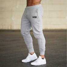 2021 New Casual  Men's Joggers Pants Fitness Men Sportswear Tracksuit Bottoms Skinny Sweatpants Trou