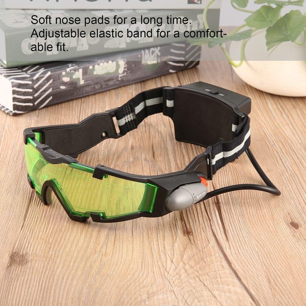 Защитные очки, модные очки для чтения, очки с зелеными линзами, регулируемая эластичная лента, ночное видение, промышленная работа очки защитные с лупой и дополнительными линзами sparta 913835