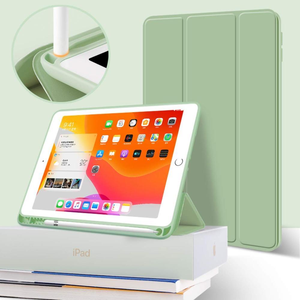 Magnético para Ipad Case com Lápis Funda para Ipad Case de Despertar Titular Capa Case A2123 A2153 A2152 Silicone Automática ar 3 Pro 10.5