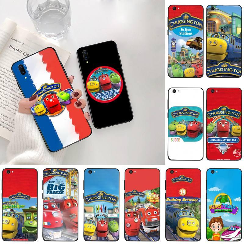 Chuggington Children Train Soft Silicone TPU Phone Cover For Vivo Y91c Y17 Y51 Y67 Y55 Y93 Y81S Y19 V17 vivos5