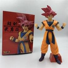 Film Dragon Ball Z Rood Haar Goku Vs Broly Super Saiyan Dbz Goku Vegeta Rood Haar Ver. Battle Action Figure Pvc Dbz 24 Cm