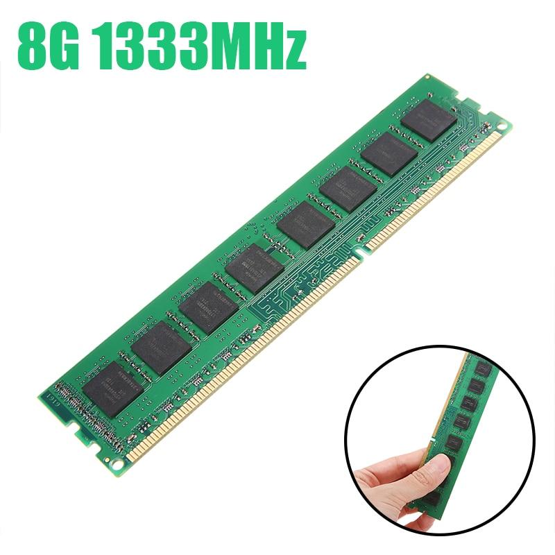 جديد 8GB DDR3 PC3-10600 1333MHz لسطح المكتب PC DIMM الذاكرة RAM 240 دبابيس بالكامل متوافق نظام عالية المبرد ل amd