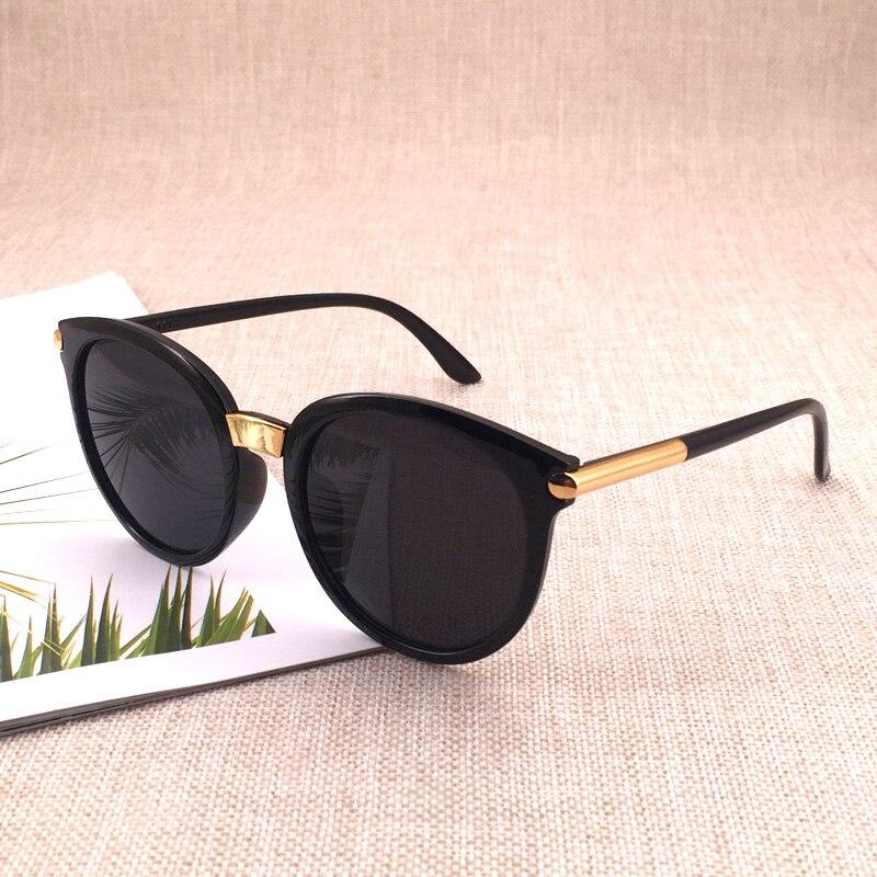 Очки солнцезащитные женские круглые, классические винтажные модные брендовые дизайнерские зеркальные солнечные очки с защитой от ультраф...
