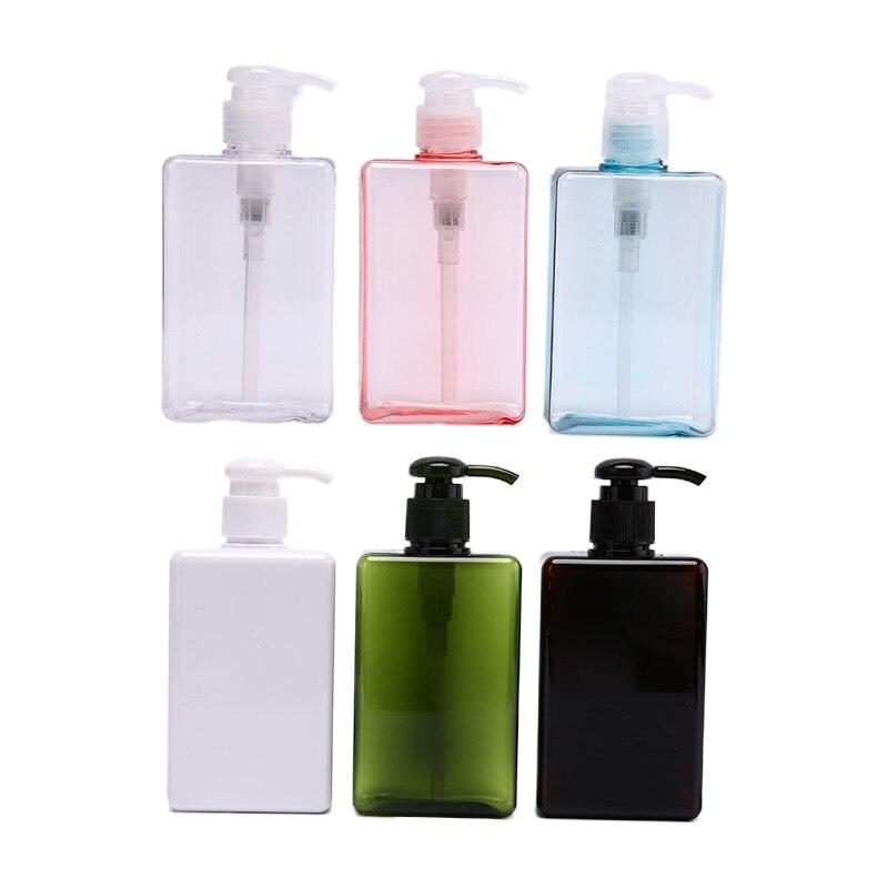 Dispensadores de jabón de manos para baño, botella de plástico de 300ml, dispensadores de jabón líquido en aerosol