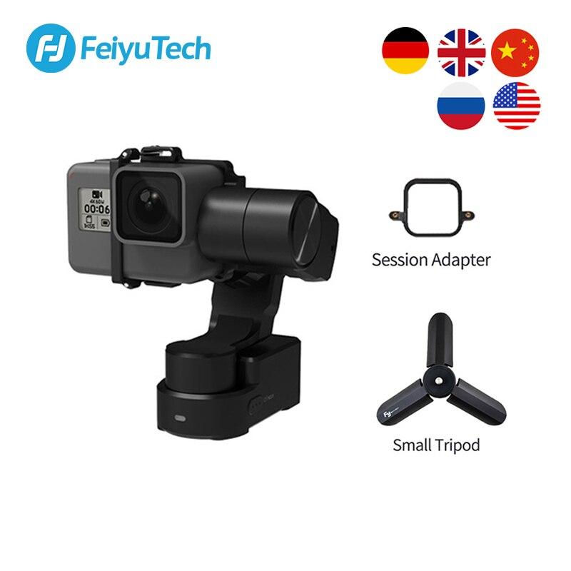 FeiyuTech Feiyu WG2X Wearable Gimbal Tripod 3-axis Stabilizer for GoPro Hero 8 7 6 5 4 Sony RX0 YI 4K Action Camera Splash-proof