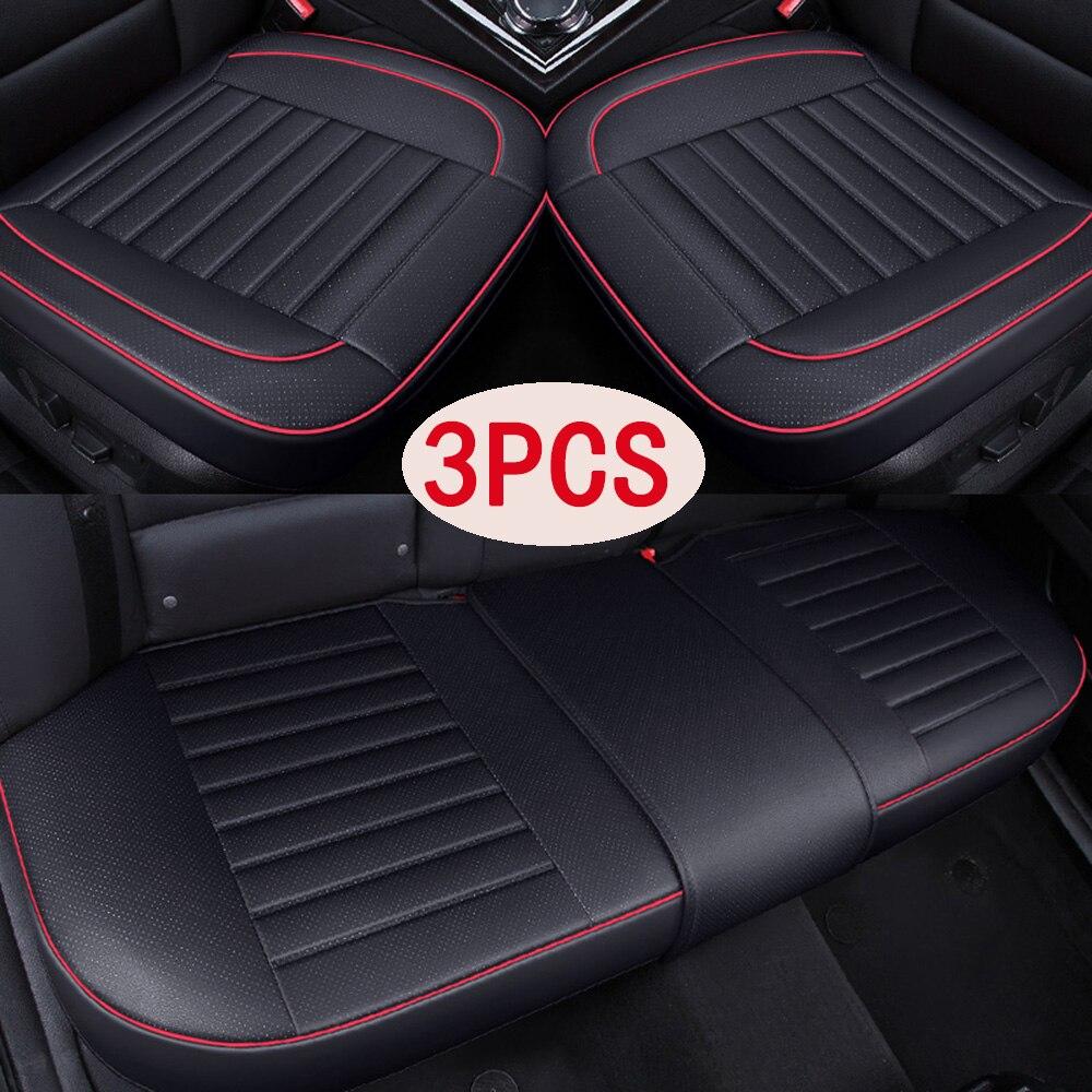 Universal cubiertas de asiento de coche Set completo Interior Accesorios para Audi...