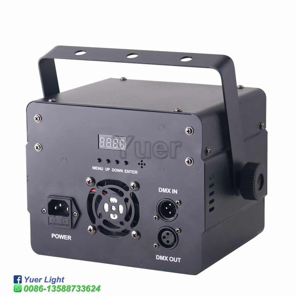 4в1 светодиод сцена проектор звук активированный строб узор лазер проектор DMX сцена освещение эффект DJ дискотека вечеринка праздник свадьба