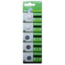 5pcs/lot CR1220 button battery 3V Watch Battery