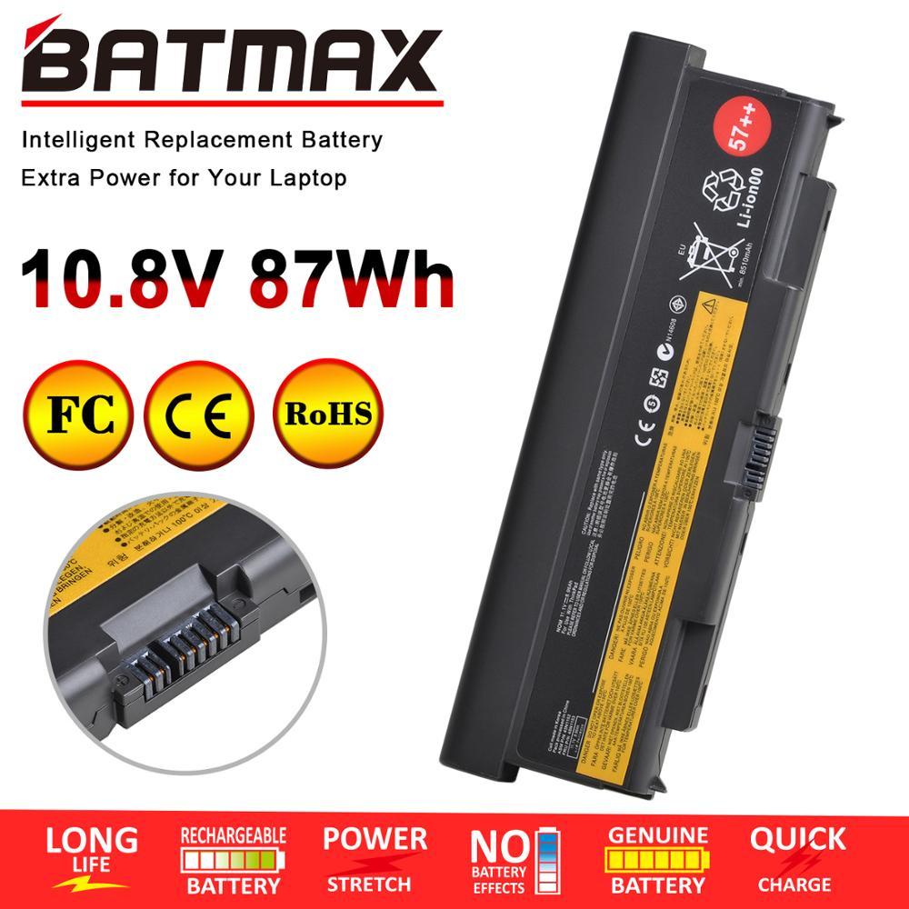 10,8 V 87WH/9 батарея для ноутбука Lenovo ThinkPad L440 L540 T440p T540p W540 45N1148 45N1149 45N1152