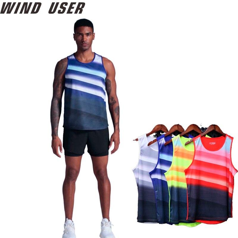 Running Vest  Sleeveless Shirt Summer Slim Tank  Men Sport Vest Top New Workout Training Gym vest