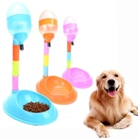 pet automatic feeder pet drinker waterer dog feeder eco friendly adjustable detachable drinking dispenser dog automatic drinkers