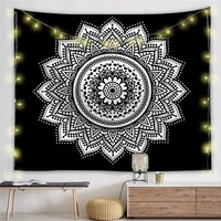 mandala tapestry living room bedroom background wall decoration cloth bohemian style tapestry