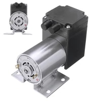 dc 12v 4w electric mini vacuum air pump negative pressure suction diaphragm vacuum pumps 5lmin 80kpa with holder for seperator