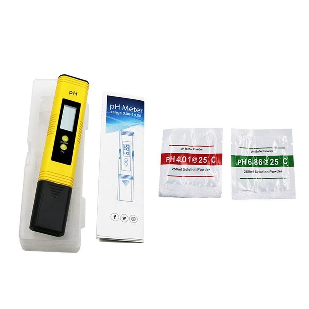 Portable High-Precision Ph Test Pen Titanium Alloy Digital Water Quality Tester Temperature And Ec Meter 1 Piece