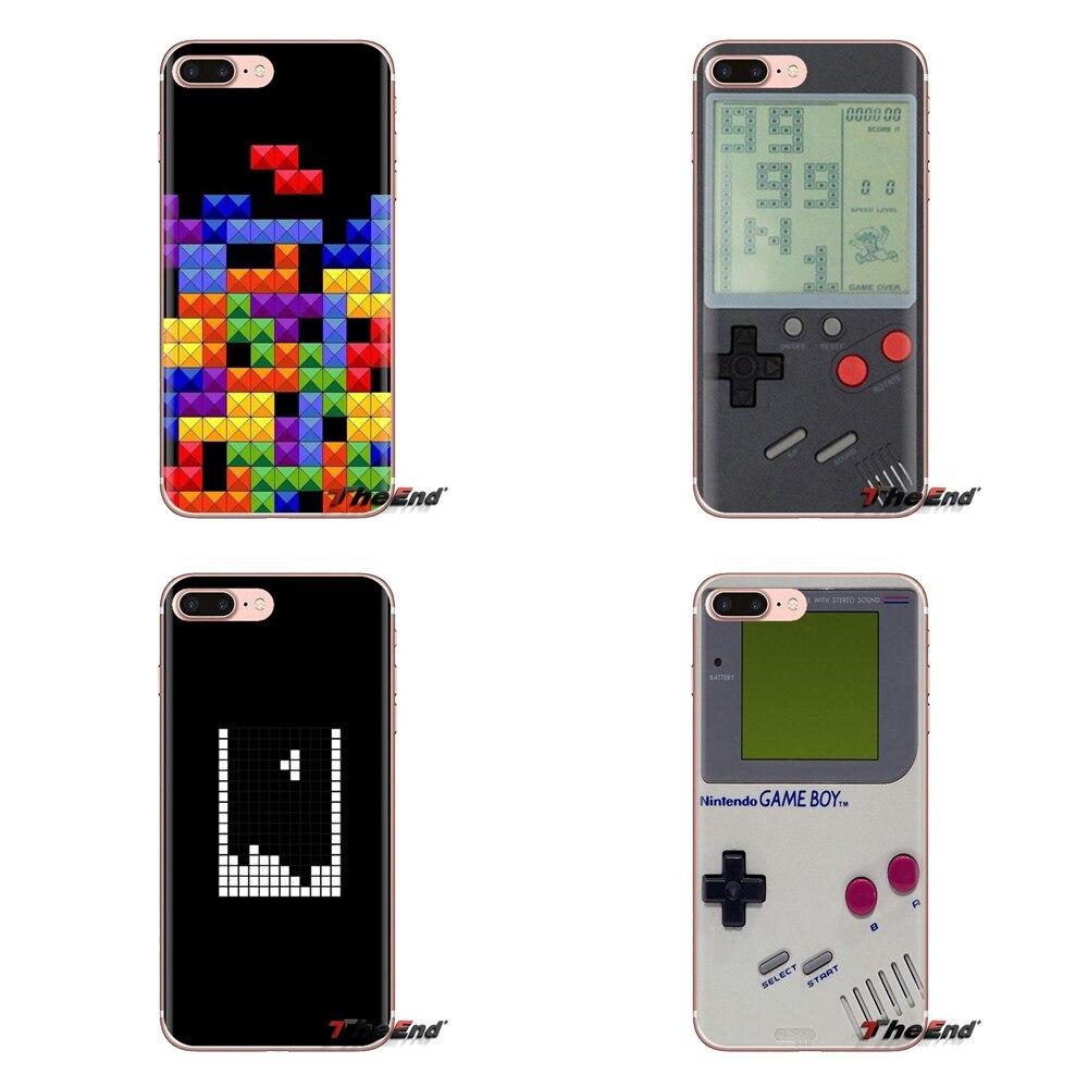 Tetris Retro juego de arte Gameboy suave transparente fundas para Xiaomi Redmi Note 4A S2 nota 3S 3S 4 4X 5 Plus 6 7 6A Pro teléfono móvil F1