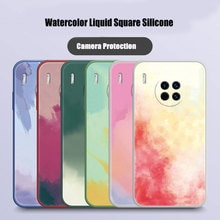 Mate 30 Case Luxury Marble Gradient Phone Case for Huawei Mate 20 40 Pro P30 Lite P40 Honor 30 Squar
