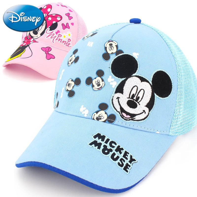 Original Disney Frozen Elsa Princess Hat Spring And Summer Baseball Caps For Children Sun Hat For Boys And Girls Sunscreen Cap F