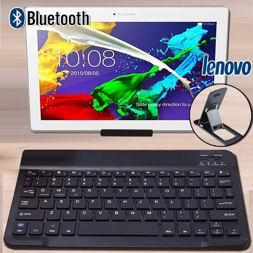 """Wireless Bluetooth Keyboard For Lenovo Moto Tab/Tab E10/M10/P10/Yoga Book 10.1""""/Tab3 10.1/Tab 4 10 Plus/Tab4 10"""" Tablet Keyboard"""
