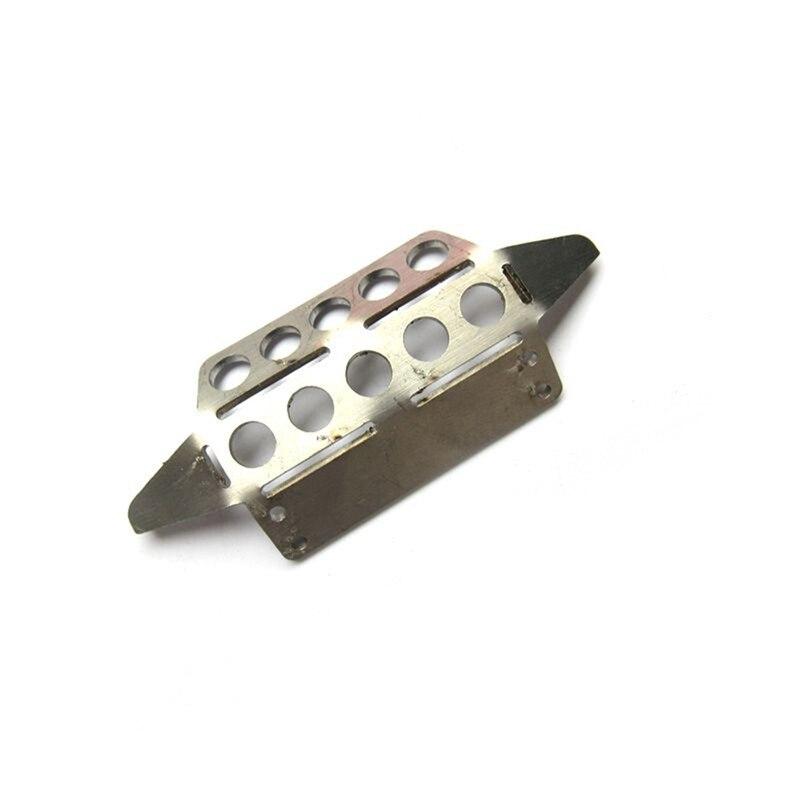 Para MN Model 112 D90 D91 piezas de repuesto de coche teledirigido armadura frontal de Metal mejorado protección Guard