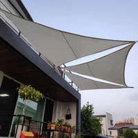 waterproof sun shelter triangle sunshade protection outdoor canopy garden patio pool sail awning camping shade dust cover