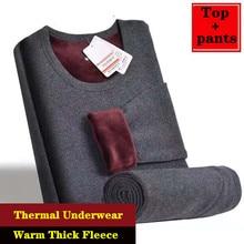 2020 Winter Thermal Underwear For Men Women Long Johns Winter Women Thermo Shirt+pants Set Warm Thic