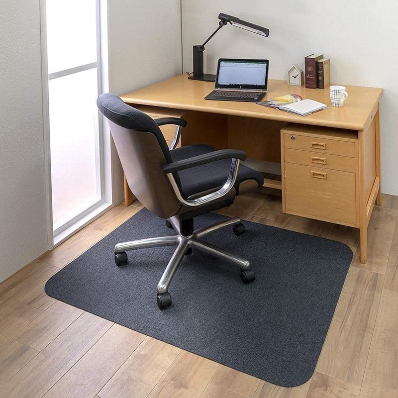 مكتب عمل مخدة كرسي سجادة غرفة معيشة مكتب مخدة كرسي دائم عدم الانزلاق الطابق الخشب حماية السجاد الكلمة سجادة كرسي