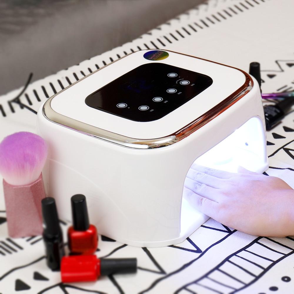 Xzmuv Bluetooth Speaker Nail Uv Lamp 42LED Gel Nagellak Droger Muziekspeler Nail Curing Light Auto Sensing Nagels Art gereedschap